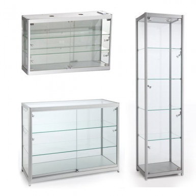 Aluminium Showcase & Counters