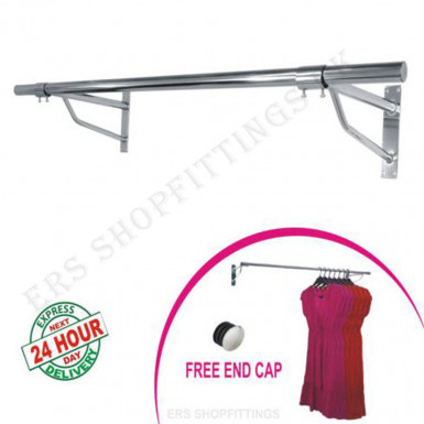 Clothes Wall Mounted Hang Rail