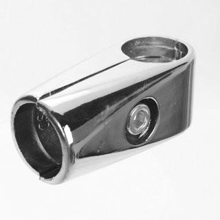 3 Way Clamp Chrome (25mm)