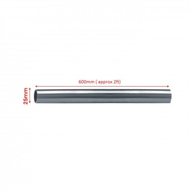 High Quality Chrome Plated Round Tube for different length 0.6m/0.9m/1.2m/1.5m/1.8m/3m