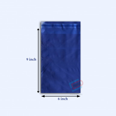 "100/500 Plastic Mailing Post Poly Postage Bags with Strong Self Seal HOT BLUE 6""x 9"""