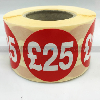 £2.99 ROUND PRICE SALE REDUCE SPECIAL OFFER STICKER FOR HANGERS BOXES BAGS ETC