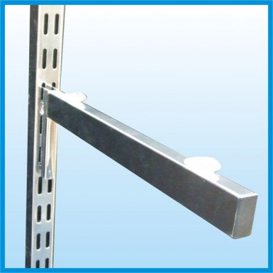 Upright Glass Shelf Bracket (1 Pair) 250/300/350mm