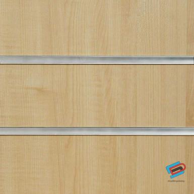 Irish Maple Slatwall Panel 4ft x 4ft (Even Number) / 8ft x 4ft