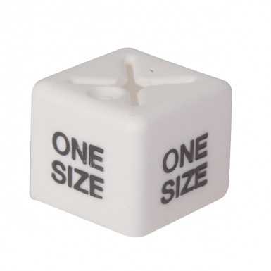 50x One Size Size Cube White