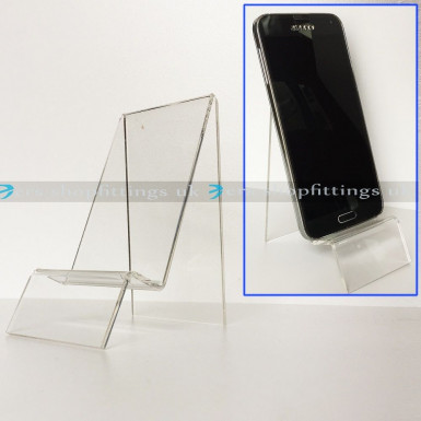MOBILE PHONE STAND COVER BOOK WALLET PURSE DISPLAY HOLDER
