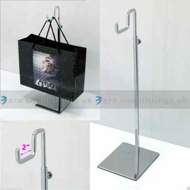 Adjustable Handbag Bag Display One Hook Stand Hat Scarf Necklace Hanger