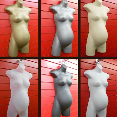 Hanging Female PREGNANT Mannequin TORSO BODY HIGH QUALITY FORM DISPLAY BUST