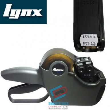 LYNX Lynxlite Two-Line Price Gun with 8+8 Numeric Bands