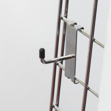 "2"" Gridwall Chrome Hook/Prong Single"