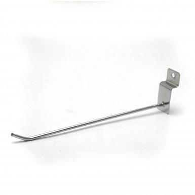 "Slim Slatwall Hook  7"" ( 18cm ) Slimline"