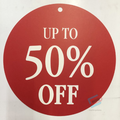 Round Sale Card up to 50%