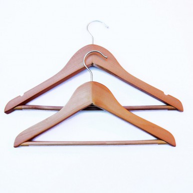 CHILD WOODEN COAT HANGERS